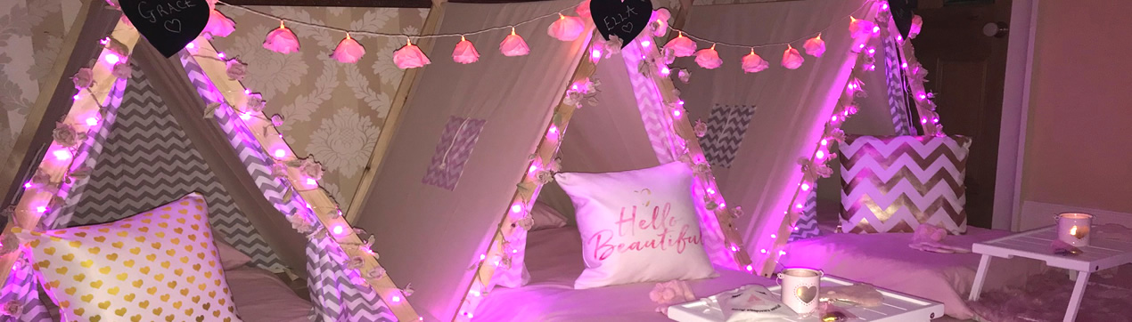 Pretty in Pink - Making Sleepovers Special
